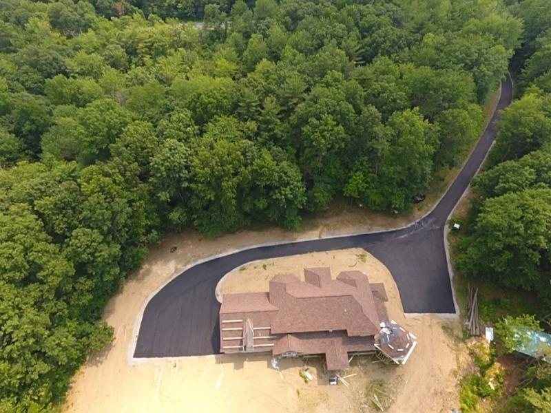 Aerial Views of Paving Projects 9 of 9